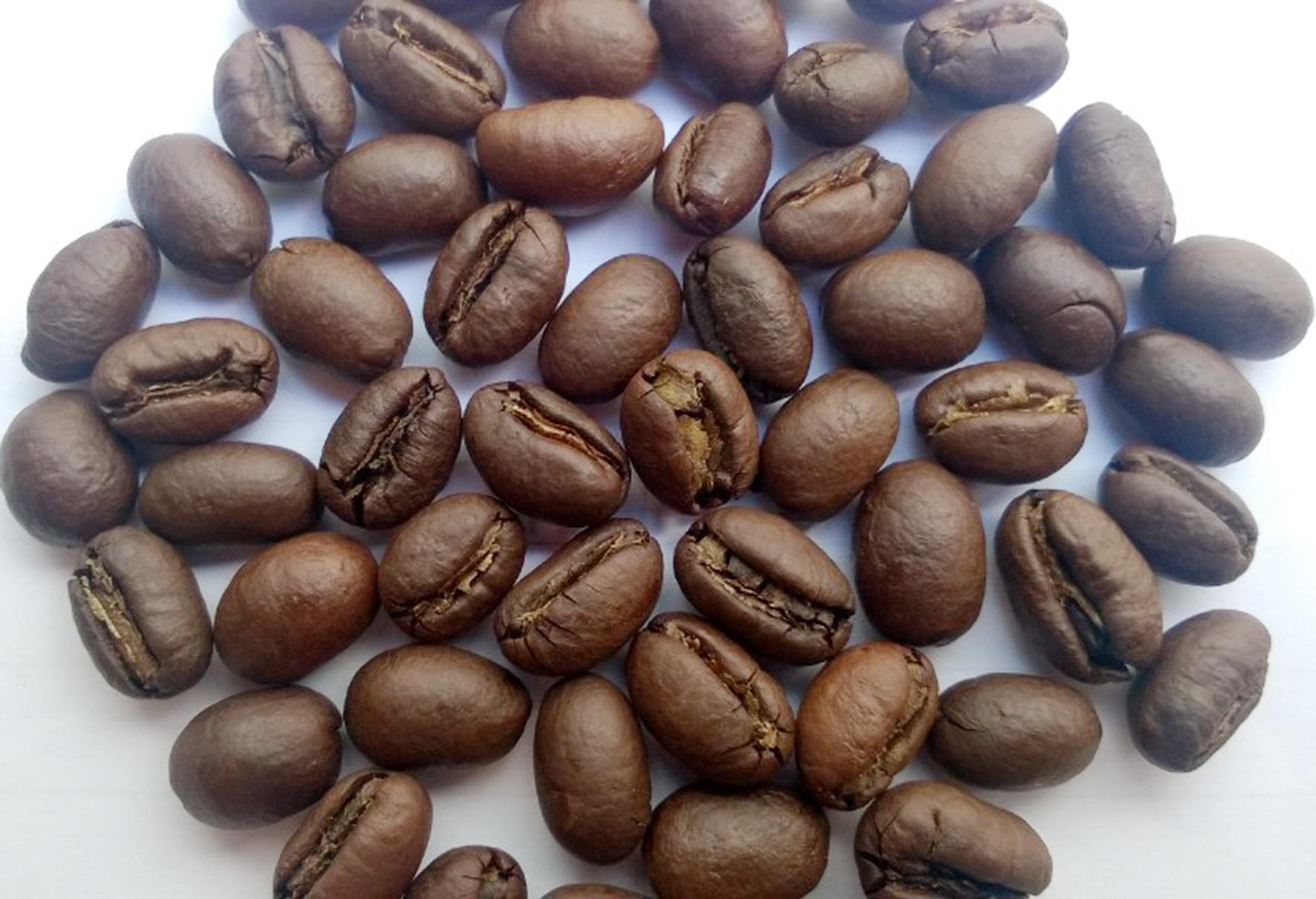 cà phê culi được tách ra từ cà phê robusta