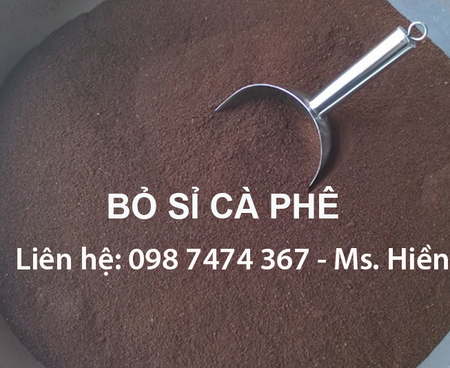 bột cafe pha phin 3mm - 4mm